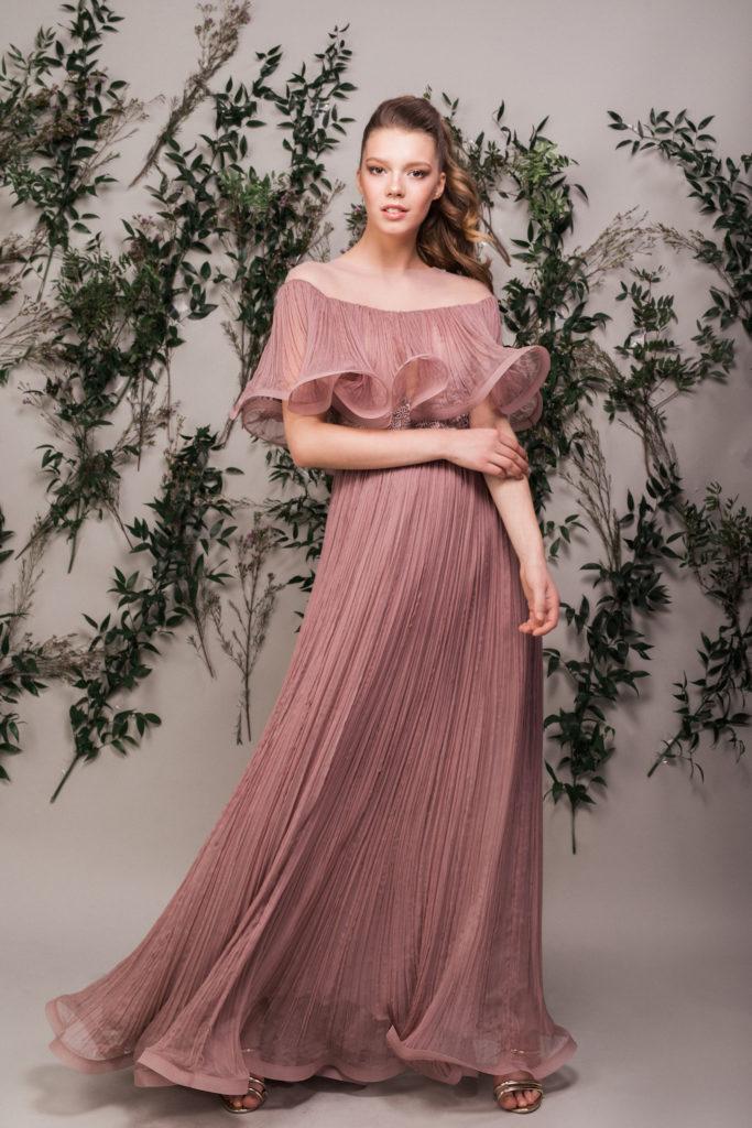 rochie-lunga-seara-bej-roze-maigre