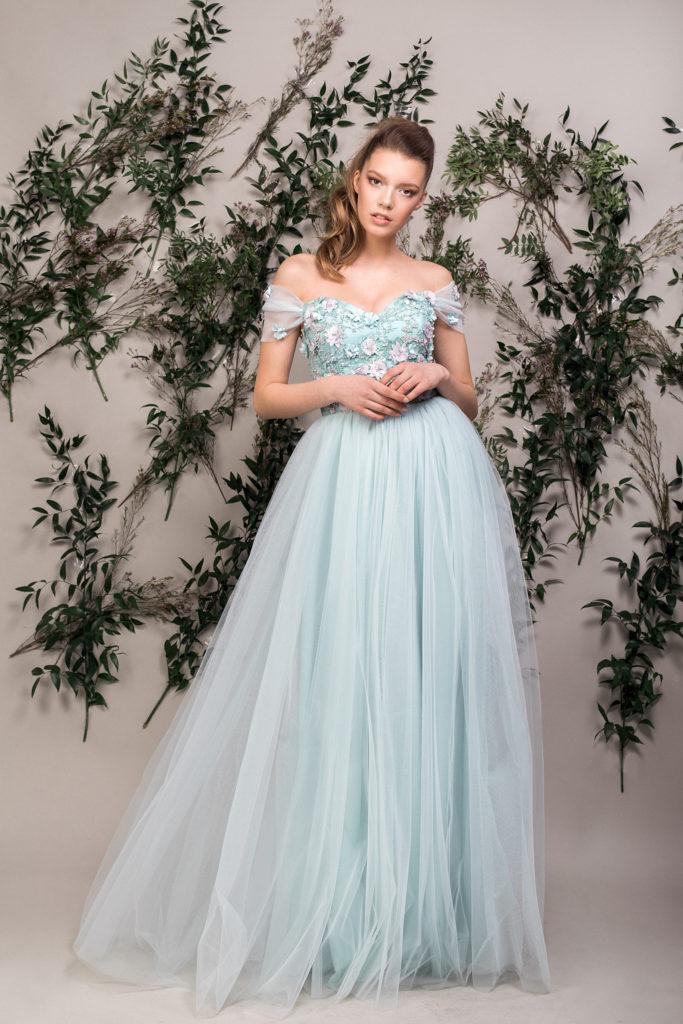 rochie-lunga-seara-bleu-aqua-maigre